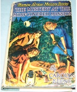 Nancy Drew #18 Moss-Covered Mansion Orig Text DJ - $5.99
