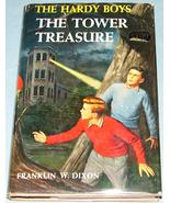 Hardy Boys #1 Tower Treasure Rev Text DJ - $6.99