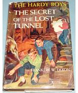 Hardy Boys #29 Secret of Lost Tunnel 1st Prt DJ - $14.99