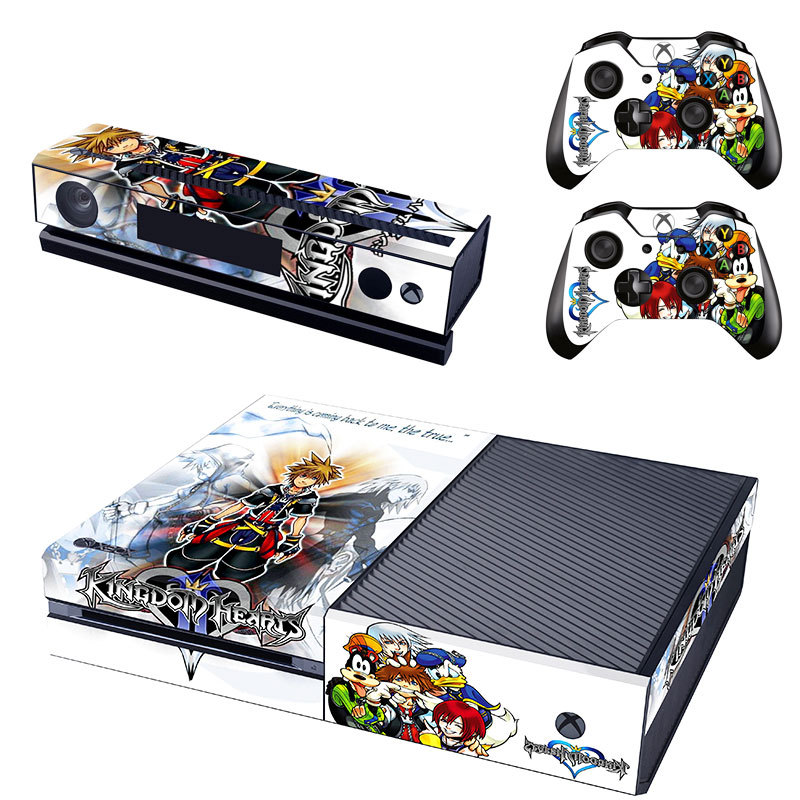 Kingdom Hearts Design Decal For Xbox One Skin Sticker