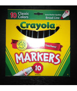 10 Crayola Classic Markers Choose Your Color Bl... - $6.95