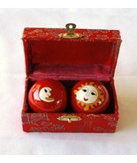 Baoding Cloisonne Enamel Iron Chiming Therapy H... - $10.99