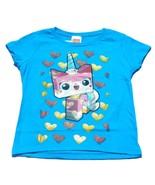 NWT Blue Lego Movie Unikitty T Shirt Girls Size... - $12.99