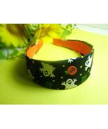 Wide Handmade Ghosts Pumpkins Headband - $12.99