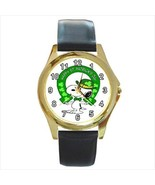 SNOOPY ST. PATRICK'S DAY GOLD OR SILVER TONE WA... - $24.99