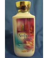Bath and Body Works New Amber Blush Body Lotion... - $10.00