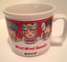 Campbell's Soup Kids Mug Cup Bowl 1993 Westwood... - $11.30