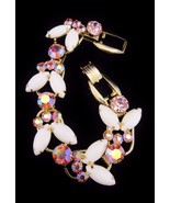 Vintage JULIANA Pink Aurora Borealis Rhinestone... - $118.75
