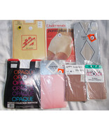 7 Pair Assorted Pantyhose  Assorted Brands, Sty... - $13.86