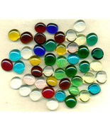 Glass Nugget Style Cabs Lot - $9.99