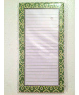 Greenhouse Border Magnetic Note Pad Dotted Line... - $8.99