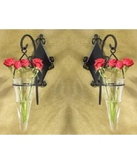 Hanging Wall Vase Sconce Lot of 2 - $26.00