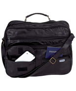 Embassy Genuine Leather Tote Travel Business Me... - $12.99