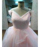Plus Size Evening Dress, Blush Colored Wedding ... - $562.50