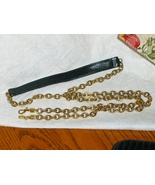 Purse Replacement Strap Black Pebble Grain Leat... - $14.00