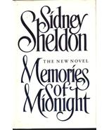 Memories of Midnight Sidney Sheldon  HCDJ First... - $6.99
