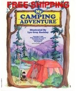 Camping Adventure Personalized Childrens Book P... - $13.95