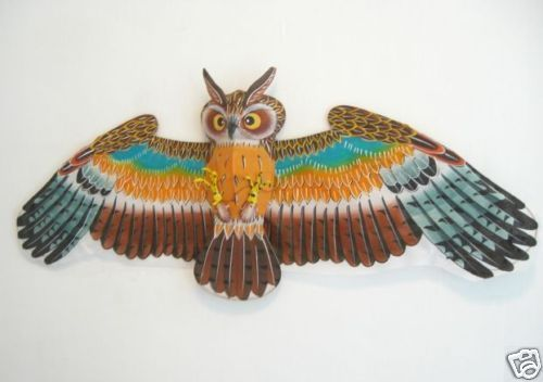 ☆Exquisite 3D Japanese Owl Kite//Art Decoy/Xmas Gift