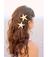 Natural Sand Color Starfish Hair Clip.1 piece N... - $12.90