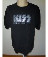 KISS Detroit Rock City Men's Black T-Shirt By V... - $19.00