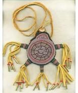 Beaded Amulet Fetish Bag Turtle Bear Totem - $394.00