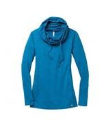 Moving Comfort Chic Hoodie Crush Heather Blue S... - $45.74
