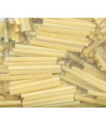 Satin Gold 30mm Bugles - $21.80