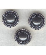 Hematite Beaded Button Covers 3 - $9.97