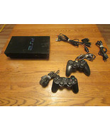 Sony PlayStation 2 Black (FAT) Console System (... - $74.23