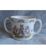 Bunnykins Two Handle Hug a Mug Playing with Dol... - $19.99