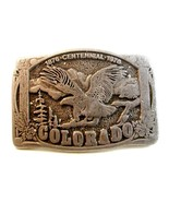 Vintage 1876 - 1976 Colorado Centennial Belt Bu... - $13.99