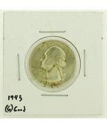 1945 United States Washington Quarters Dollar 9... - $3.00
