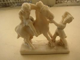 Vintage, Signed Ribell, Rock Salt Sculpture of ... - $31.30