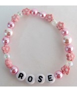 Child Name Bracelets Personalized Jewelry Party... - $10.78