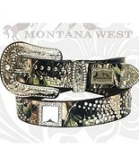 Montana West Camo Western Square Crystal Rhines... - $42.13