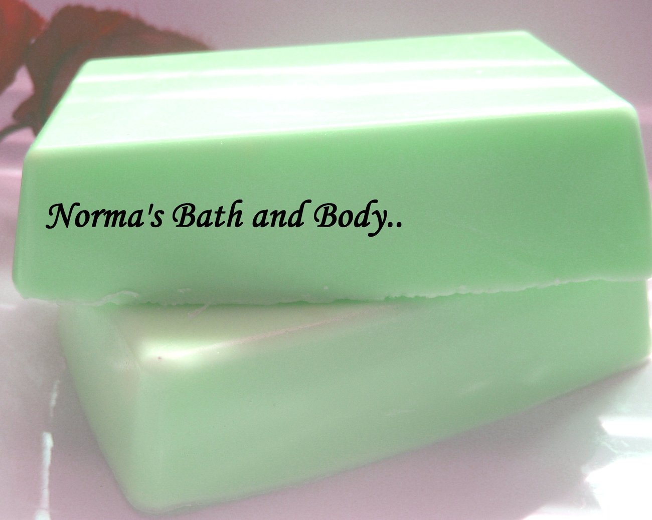 lime and apricot glycerin soap