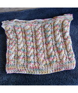 hand knitted for 1st grad pull over vest with c... - $10.00