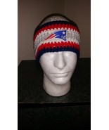 New England Patriots Handmade Crochet Ear Warme... - $20.00