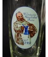 Vintage Kulmbacher Monchshof Brau 0.25L Pint Be... - $10.00