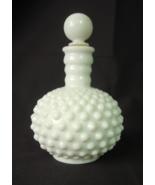 Fenton Hobnail Milk Glass Perfume Bottle with S... - $14.00
