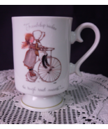 Holly Hobbie Mug Cup FRIENDSHIP MAKES THE ROUGH... - $6.00