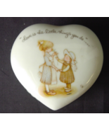 Holly Hobbie Heart Trinket Box