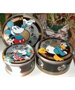 Disney Mickey Donald Minnie Set of Three Stacka... - $14.99