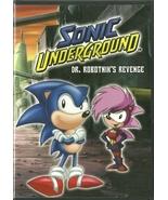 Sonic Underground DVD Dr. Robotnik's Revenge  - $8.99