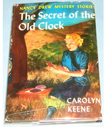 Nancy Drew #1 Secret of the Old Clock Orig Text DJ - $9.99