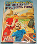 Nancy Drew #17 Brass Bound Trunk Orig Text DJ - $9.99