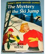 Nancy Drew #29 Mystery at Ski Jump Orig Text DJ - $7.99