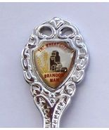 Collector Souvenir Spoon Canada Manitoba Brando... - $8.98