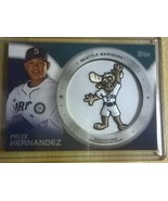 2014 TOPPS COMMERATIVE PATCH FELIX HERNANDEZ..#... - $6.99
