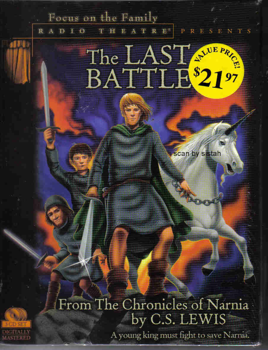 The Last Battle 2002 C S Lewis 3 cd Narnia Chronicles